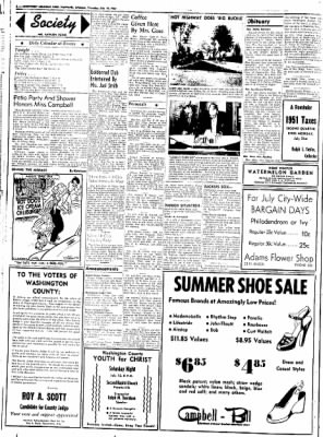 Northwest Arkansas Times from Fayetteville, Arkansas on July 10, 1952 · Page 2