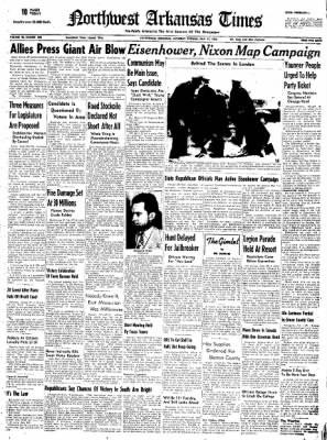 Northwest Arkansas Times from Fayetteville, Arkansas on July 12, 1952 · Page 1