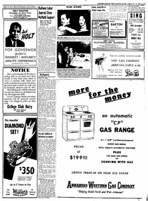 Northwest Arkansas Times from Fayetteville, Arkansas on July 15, 1952 · Page 3