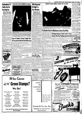 Northwest Arkansas Times from Fayetteville, Arkansas on July 15, 1952 · Page 5