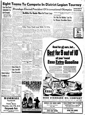 Northwest Arkansas Times from Fayetteville, Arkansas on July 16, 1952 · Page 13
