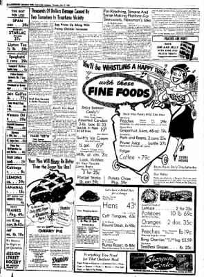 Northwest Arkansas Times from Fayetteville, Arkansas on July 17, 1952 · Page 6