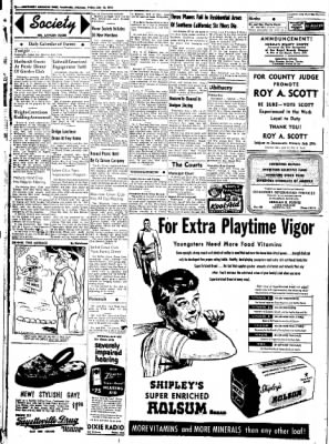 Northwest Arkansas Times from Fayetteville, Arkansas on July 18, 1952 · Page 2