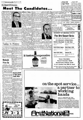 Northwest Arkansas Times from Fayetteville, Arkansas on October 11, 1974 · Page 6