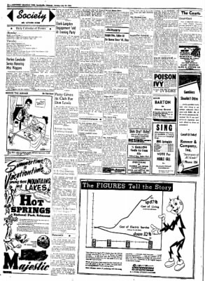 Northwest Arkansas Times from Fayetteville, Arkansas on July 21, 1952 · Page 2