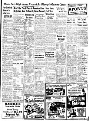 Northwest Arkansas Times from Fayetteville, Arkansas on July 21, 1952 · Page 9