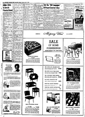 Northwest Arkansas Times from Fayetteville, Arkansas on July 22, 1952 · Page 6