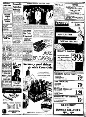 Northwest Arkansas Times from Fayetteville, Arkansas on July 23, 1952 · Page 5