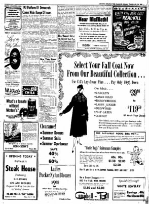 Northwest Arkansas Times from Fayetteville, Arkansas on July 24, 1952 · Page 3