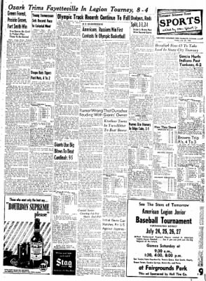 Northwest Arkansas Times from Fayetteville, Arkansas on July 25, 1952 · Page 7