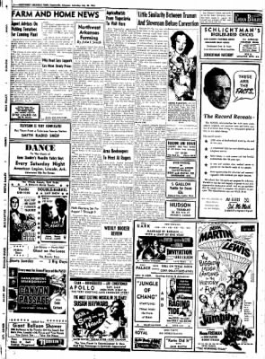 Northwest Arkansas Times from Fayetteville, Arkansas on July 26, 1952 · Page 10