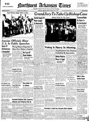 Northwest Arkansas Times from Fayetteville, Arkansas on July 29, 1952 · Page 1
