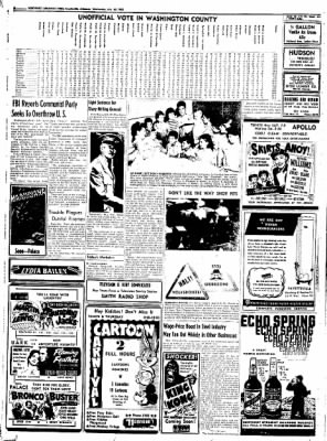 Northwest Arkansas Times from Fayetteville, Arkansas on July 30, 1952 · Page 8