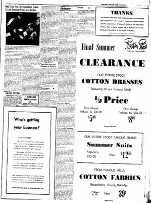 Northwest Arkansas Times from Fayetteville, Arkansas on July 31, 1952 · Page 3