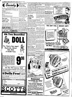 Northwest Arkansas Times from Fayetteville, Arkansas on July 31, 1952 · Page 16