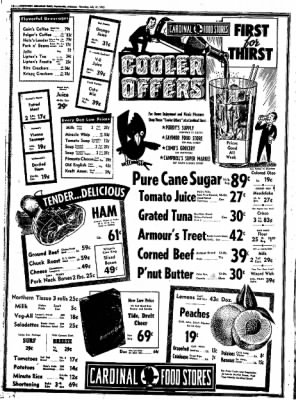 Northwest Arkansas Times from Fayetteville, Arkansas on July 31, 1952 · Page 24