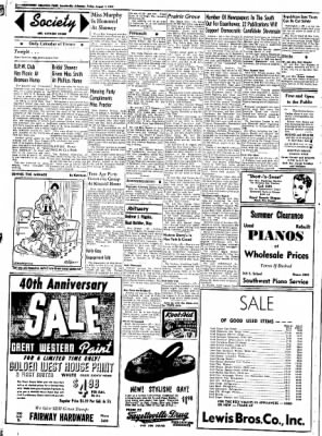 Northwest Arkansas Times from Fayetteville, Arkansas on August 1, 1952 · Page 2