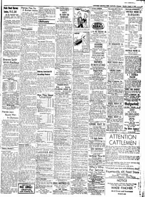 Northwest Arkansas Times from Fayetteville, Arkansas on August 4, 1952 · Page 9
