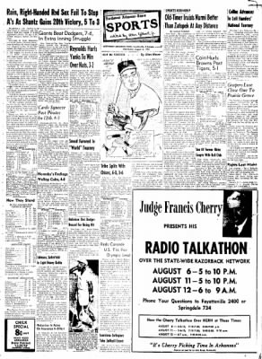 Northwest Arkansas Times from Fayetteville, Arkansas on August 6, 1952 · Page 7