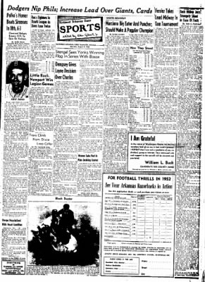 Northwest Arkansas Times from Fayetteville, Arkansas on August 9, 1952 · Page 9