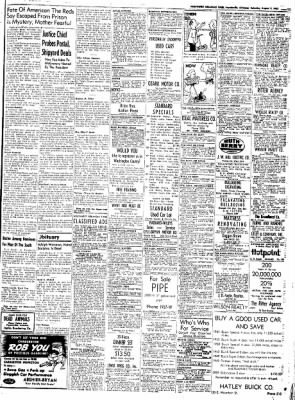 Northwest Arkansas Times from Fayetteville, Arkansas on August 9, 1952 · Page 11