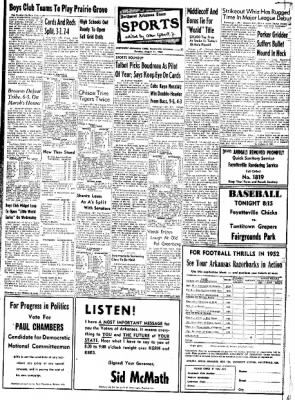 Northwest Arkansas Times from Fayetteville, Arkansas on August 11, 1952 · Page 11