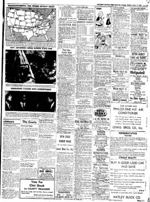 Northwest Arkansas Times from Fayetteville, Arkansas on August 11, 1952 · Page 13