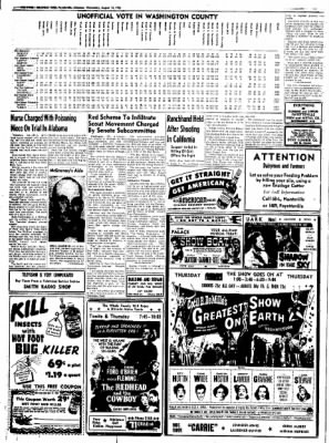 Northwest Arkansas Times from Fayetteville, Arkansas on August 13, 1952 · Page 14