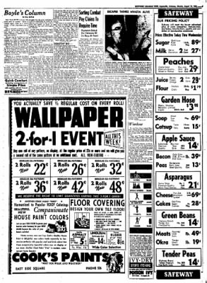 Northwest Arkansas Times from Fayetteville, Arkansas on August 18, 1952 · Page 5