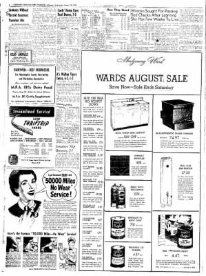 Northwest Arkansas Times from Fayetteville, Arkansas on August 20, 1952 · Page 8