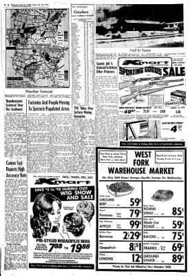 Northwest Arkansas Times from Fayetteville, Arkansas on October 23, 1974 · Page 16