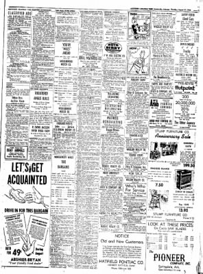 Northwest Arkansas Times from Fayetteville, Arkansas on August 21, 1952 · Page 15
