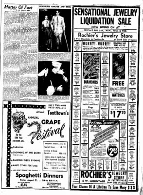Northwest Arkansas Times from Fayetteville, Arkansas on August 22, 1952 · Page 3