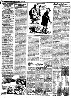 Northwest Arkansas Times from Fayetteville, Arkansas on August 28, 1952 · Page 4