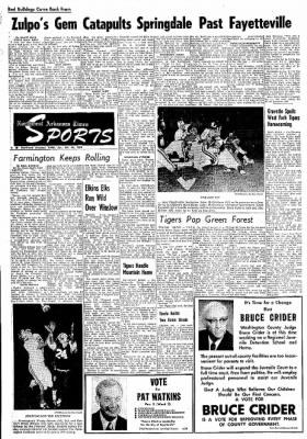 Northwest Arkansas Times from Fayetteville, Arkansas on October 26, 1974 · Page 6