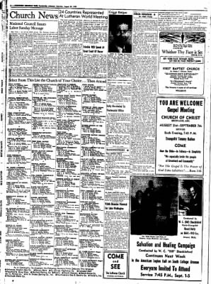 Northwest Arkansas Times from Fayetteville, Arkansas on August 30, 1952 · Page 2
