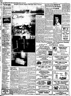 Northwest Arkansas Times from Fayetteville, Arkansas on August 30, 1952 · Page 6