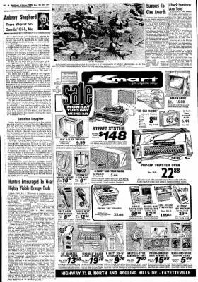 Northwest Arkansas Times from Fayetteville, Arkansas on October 27, 1974 · Page 22