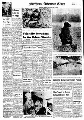 Northwest Arkansas Times from Fayetteville, Arkansas on October 27, 1974 · Page 25