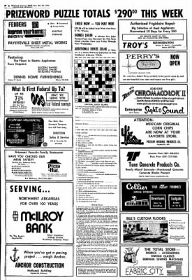 Northwest Arkansas Times from Fayetteville, Arkansas on October 27, 1974 · Page 28