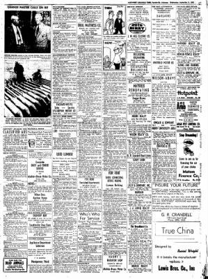 Northwest Arkansas Times from Fayetteville, Arkansas on September 3, 1952 · Page 9