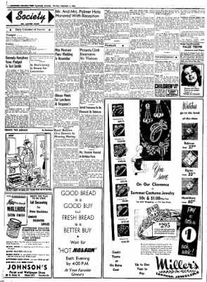 Northwest Arkansas Times from Fayetteville, Arkansas on September 4, 1952 · Page 2