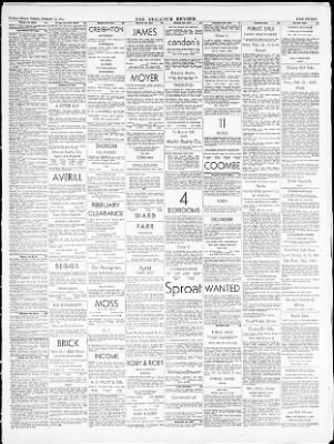The Decatur Daily Review From Decatur Illinois On February 18 1952