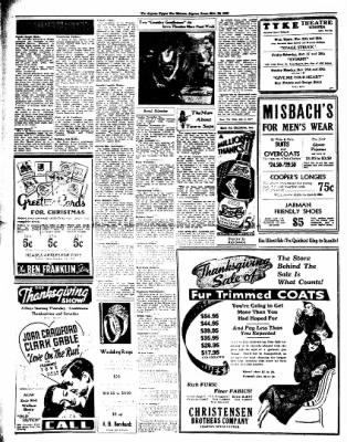 The Algona Upper Des Moines from Algona, Iowa on November 24, 1936 · Page 6