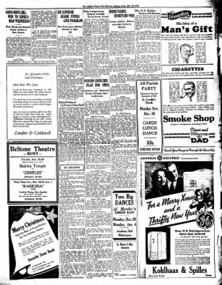 The Algona Upper Des Moines from Algona, Iowa on December 22, 1936 · Page 5