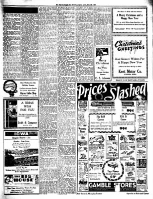 The Algona Upper Des Moines from Algona, Iowa on December 22, 1936 · Page 7