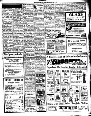 The Algona Upper Des Moines from Algona, Iowa on January 7, 1937 · Page 5