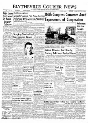 The Courier News from Blytheville, Arkansas on January 5, 1955 · Page 1