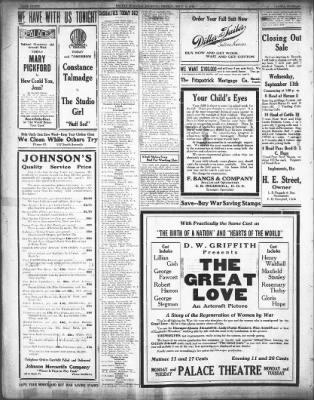 the salina evening journal from salina kansas on september 6 1918
