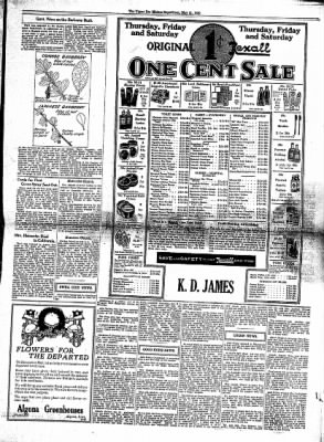 The Algona Upper Des Moines from Algona, Iowa on May 21, 1930 · Page 9